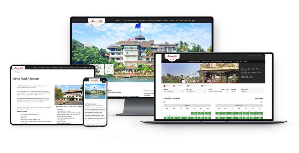 hotelallseason portfolio